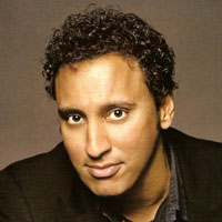 "Aasif Mandvi - those eyes, that smirk, that ability to make people forget that their words are being broadcast to millions and that there are such things as ""consequences"" mmmmmmmm"