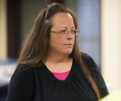 Kim Davis: Hero, a handy hashtag...or something more??